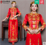 龙凤褂新娘敬酒服 新款秀禾服中式复古结婚礼服喜服嫁衣秀和服
