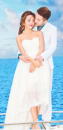 婚纱摄影工作室韩式婚纱照水下摄影中国风婚纱照团购