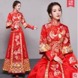 龙凤褂 新娘结婚敬酒服中式礼服古装嫁衣喜服旗袍