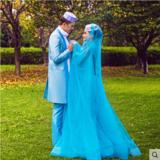 服饰女装新款影楼主题服装回族婚纱礼服情侣写真演出服