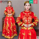 龙凤褂新款秀禾服中式结婚礼服新娘敬酒服喜服嫁衣秋季秀和服